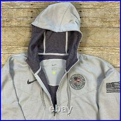 Nike USA Paralympic Team 2020 Gray Hoodie Jacket Mens Size XL EXTREMELY RARE