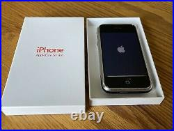 Original Apple iPhone 1st Generation 2G-8GB, Black(AT&T) Extremely Rare iOS 1.1.3