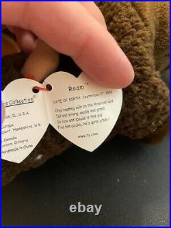 Patti The Platypus 1st GEN. Extremely rare-Beanie Baby 1993