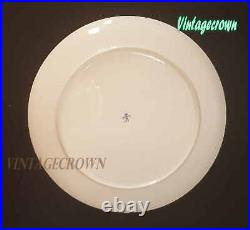 Qajar Persia Coat of Arms with Kiani Crown china bone plate Extremely Rare