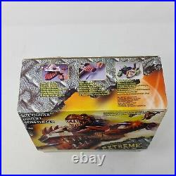 RARE Extreme Dinosaurs Bite Fighter Dino Jet Boxed Missing Few Parts Mattel 1997