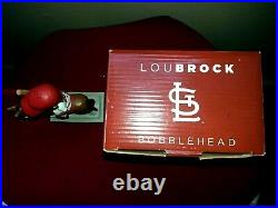 STL CARDINALS 2016 Lou Brock Clydesdale Theme Night Bobblehead-Extremely Rare
