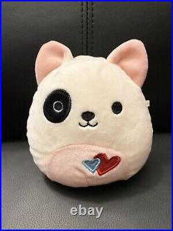 Squishmallow 5 Valentine Exclusive Felix Puppy Extremely Rare HTF 2018