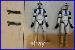 Star Wars Animated Clone Wars 501st ARF Trooper order 66 Scout EXTREMELY RARE