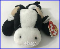 TY Beanie Baby Daisy The Cow EXTREMELY RARE Retired 1994 Tag ERRORS