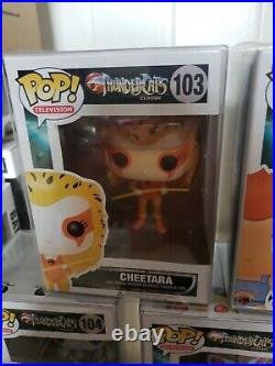 Thundercats Funko POP! Vaulted Extremely Rare complete set of 5. 2014