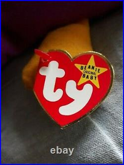 Ty Beanie Babies Extremely Rare Patti Style 4025 1 6 93