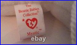 Ty MYSTIC Beanie Baby With Irridescent Horn Extremely Rare! Mistagged Error