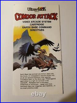 ULTRAVISION CONDOR ATTACK With MANUAL EXTREMELY RARE