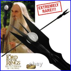 United Cutlery UC1385 STAFF OF SARUMAN Lord of the Rings 2003 EXTREMELY RARE