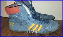 Vintage Adidas Combat Speed 1995 Size 14 Wrestling Shoes Extremely Rare Color