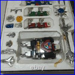 Vintage Diecast Lionbot Toy 1980s Taiwan 5 Lion Robot Complete Extremely Rare