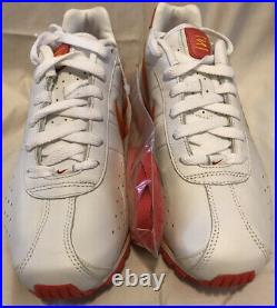 Womens Nike Shox Classic 309351-182 White Coral Orange Size 7.5 EXTREMELY RARE