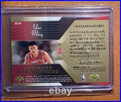 Yao Ming 2004-05 Ultimate Signatures US-YM Extremely RARE SP Autograph China